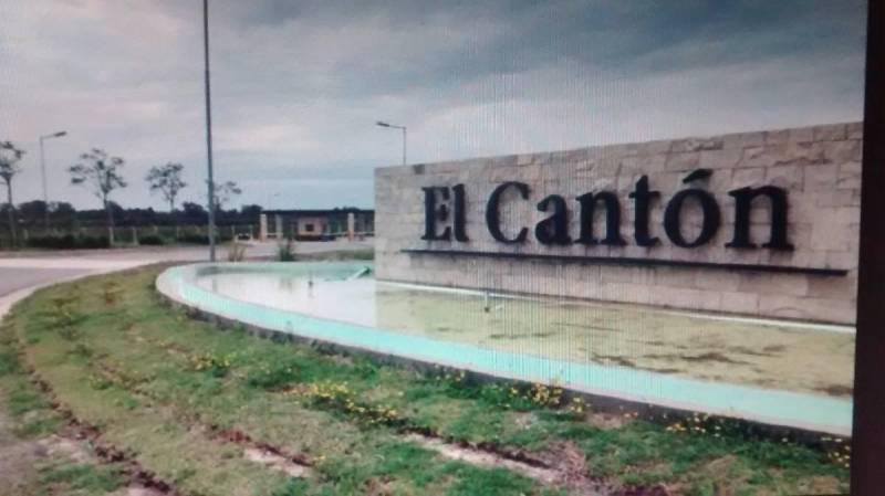 Foto Terreno en Venta en  El Canton - Norte,  Countries/B.Cerrado (Escobar)  Boulevard de acceso 1