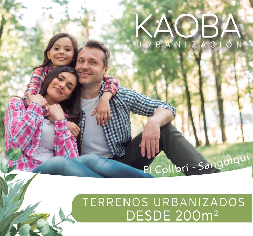 Foto Terreno en Venta en  Los Chillos,  Quito   EN VENTA TERRENO DE 206M2 EL COLIBRI LOS CHILLOS