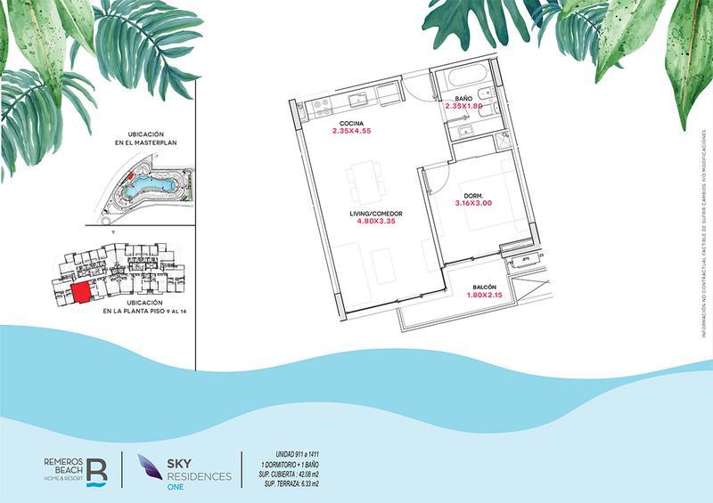 Foto Departamento en Venta en  Remeros Beach,  Countries/B.Cerrado (Tigre)  RB | SKY 1 - 1411