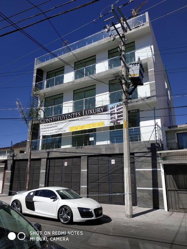 Foto Departamento en Venta en  San Bernardino,  Toluca  DEPARTAMENTO EN VENTA,  6  DEPARTAMENTOS EN TOLUCA,  ESTADO DE MÉXICO.,  EXCELENTES ACABADOS