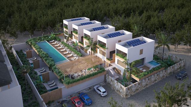 Foto Casa en Venta en  Tulum ,  Quintana Roo  ENCANTADORA VILLA DE 2 HAB. Y ALBERCA PRIVADA- LA VELETA -TULUM