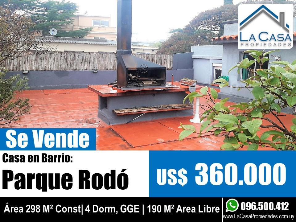 Foto Casa en Venta en  Parque Rodó ,  Montevideo  Javier de Viana