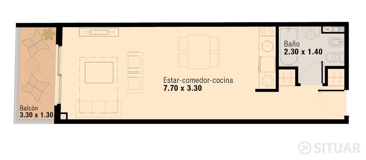 Foto Oficina en Venta en  Flores ,  Capital Federal  Pavillon San Jose