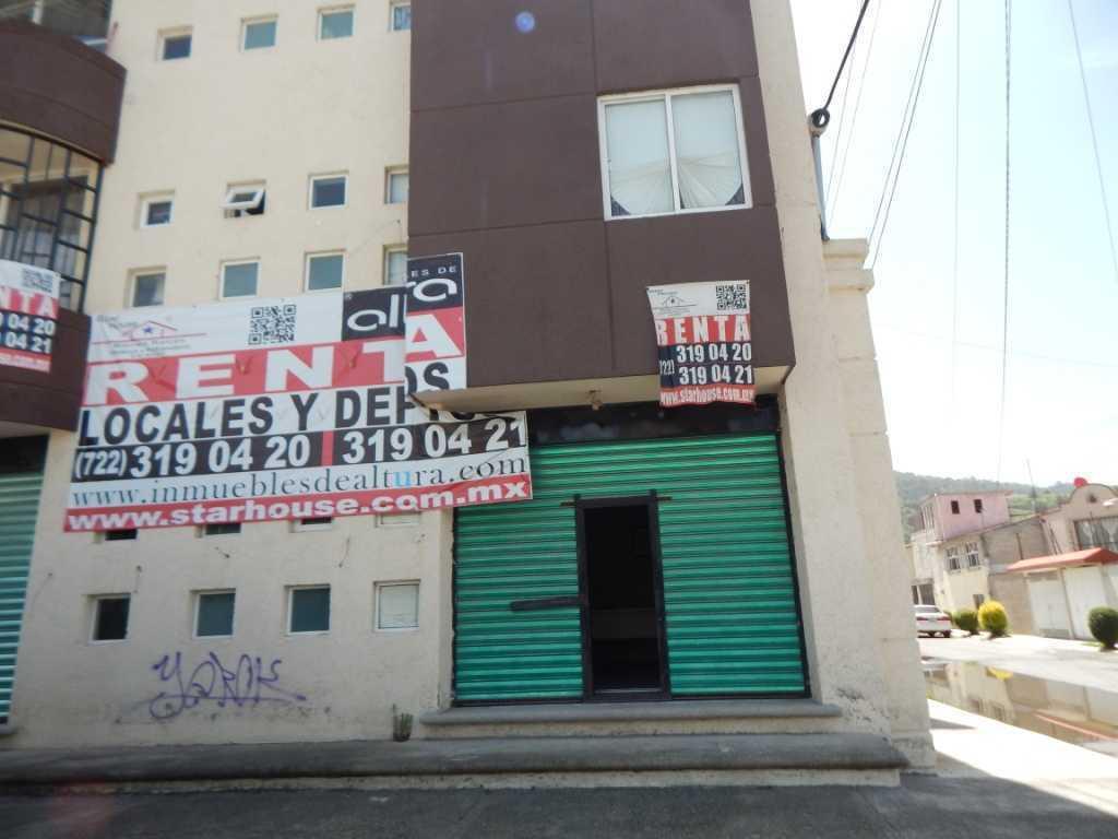 Foto Local en Renta en  San Mateo OxtotitlAn,  Toluca  CALLE FILIBERTO NAVAS NO. 205-4, COLONIA SAN MATEO OXTOTITLAN, TOLUCA MEXICO, C.P. 50100, COSH al 100