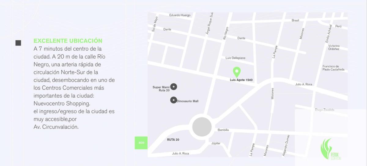 Foto Departamento en Venta en  Cordoba Capital ,  Cordoba  DPTOS VENTA EN POZO - EDIFICIO FENIX - Luis Agote al 1500