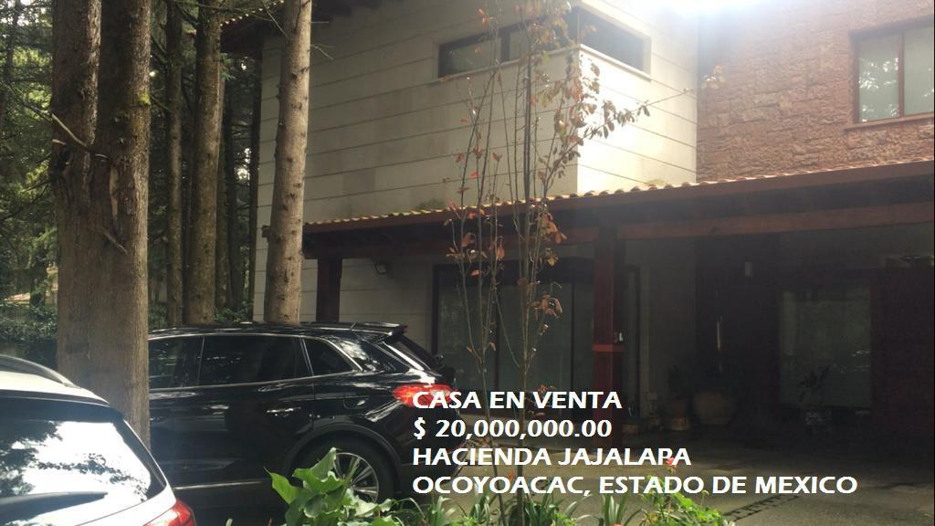 Foto Casa en condominio en Venta en  Ocoyoacac ,  Edo. de México  Casa en VENTA, Hacienda Jajalpa, Ocoyoacac, Estado de México
