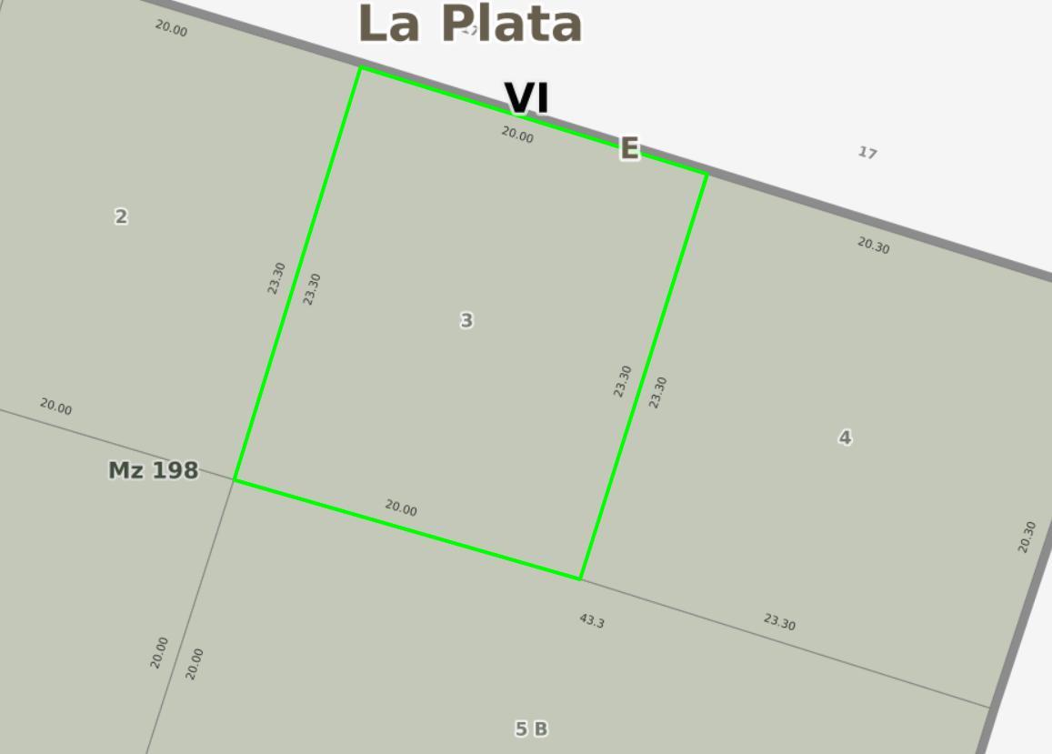 Foto Terreno en Venta en  Villa Elisa,  La Plata  10 e/ 53 y 54