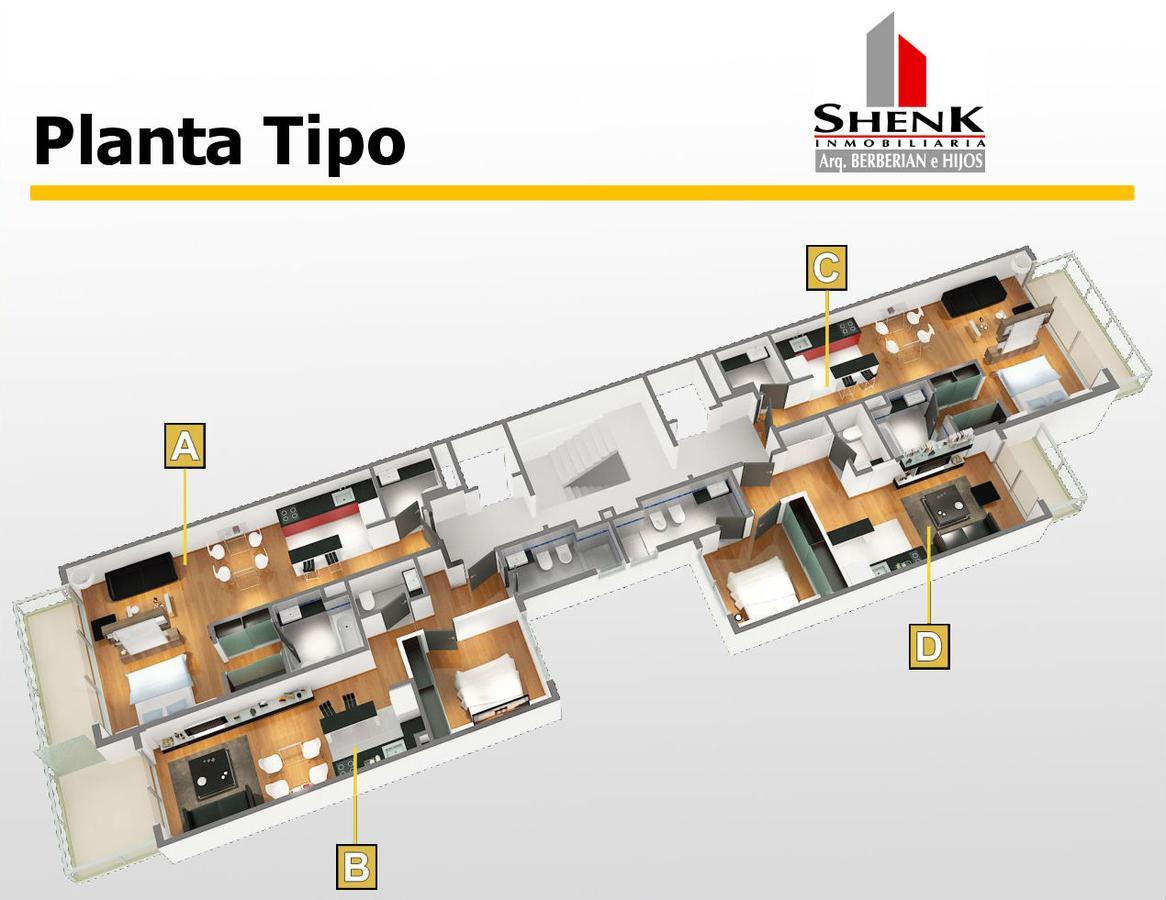 Foto Departamento en Venta en  Palermo ,  Capital Federal  Mario Bravo al 1100 1º C