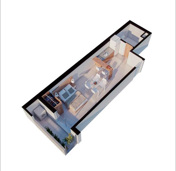 venta departamento monoambiente Rosario, CATAMARCA Y CORRIENTES. Cod CBU34667 AP3503534 Crestale Propiedades