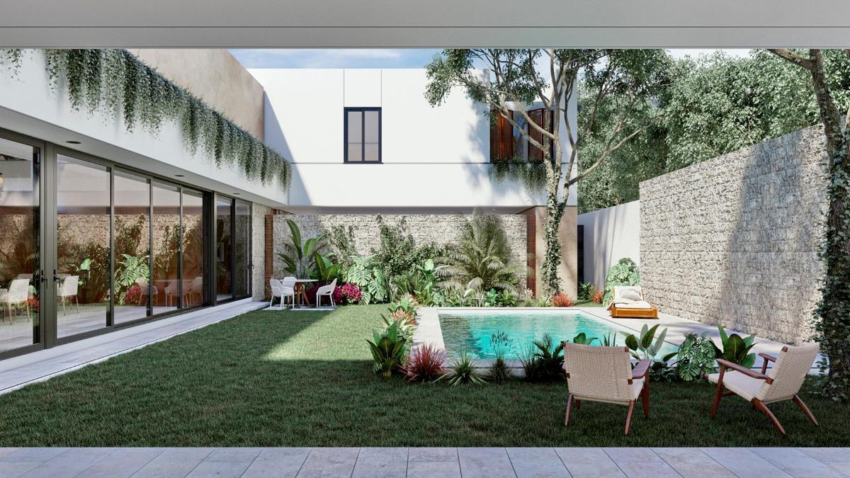 Foto Casa en Venta en  Santa Gertrudis Copo,  Mérida  El LUJO hecho casa, 5 recámaras, la mejor privada de la zona la Isla