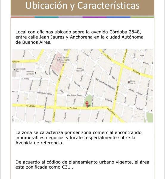 Foto Oficina en Venta en  Barrio Norte ,  Capital Federal  Av. Córdoba  al 2800