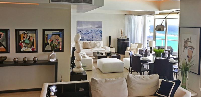 Foto Departamento en Venta en  Zona Hotelera,  Cancún  DEPARTAMENTO VENTA BAY VIEW GRAND  ZONA HOTELERA  CANCUN
