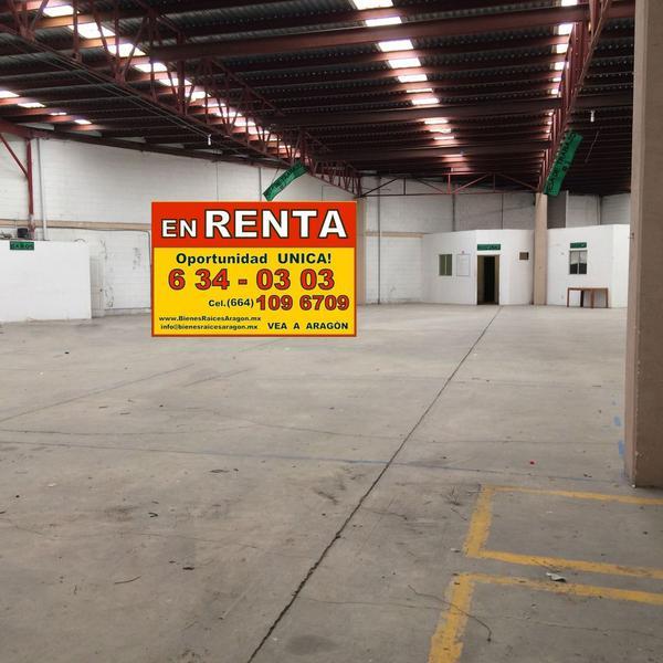 Foto Bodega Industrial en Renta en  Terrazas del Pacífico,  Playas de Rosarito  RENTAMOS MAGNIFICA BODEGA 1,000 Mts², EXCELENTE UBICACIÓN. Pip