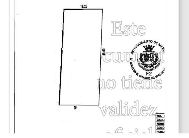 Foto Terreno en Venta en  Montes de Ame,  Mérida  ¡OPORTUNIDAD! Terreno en Venta en Montes de Amé, Ideal para Construir Departamentos, Todos los Servicios, Calle Pavimentada