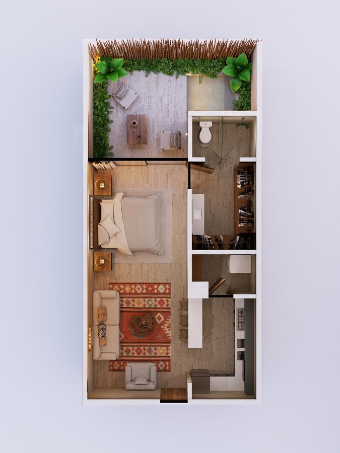 Foto Departamento en Venta en  Aldea Zama,  Tulum  Departamentos en venta, Tulum Aldea Zama LOSANTOS