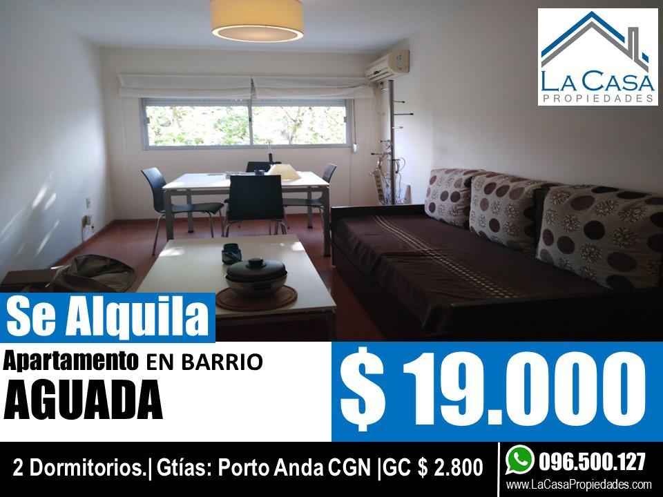 Foto Apartamento en Alquiler en  Aguada ,  Montevideo  Rondeau al 2300