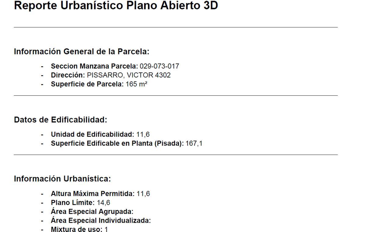 Foto Terreno en Venta en  L.De Nuñez,  Nuñez  Victor Pissarro al 4300