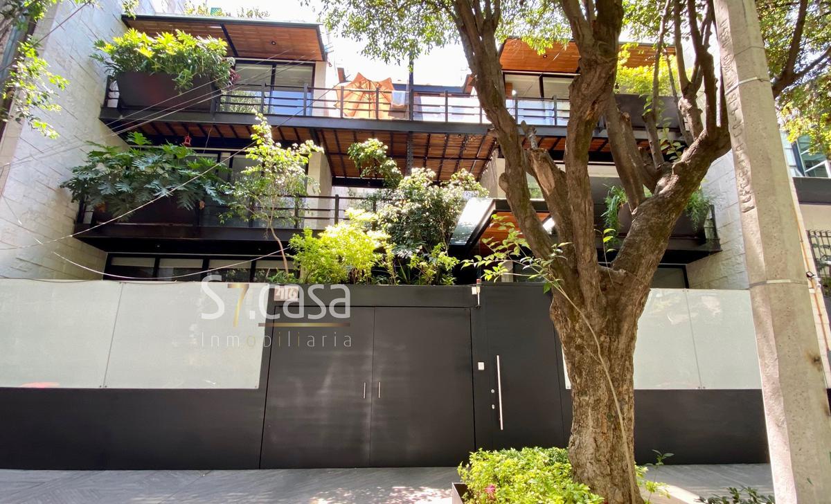 Foto Departamento en Renta en  Polanco,  Miguel Hidalgo  Departamento amueblado en Renta, en Polanco con balcon.