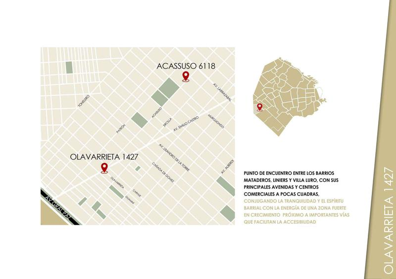 Foto Departamento en Venta en  Mataderos ,  Capital Federal  Diego de Olavarrieta 1427 1 B