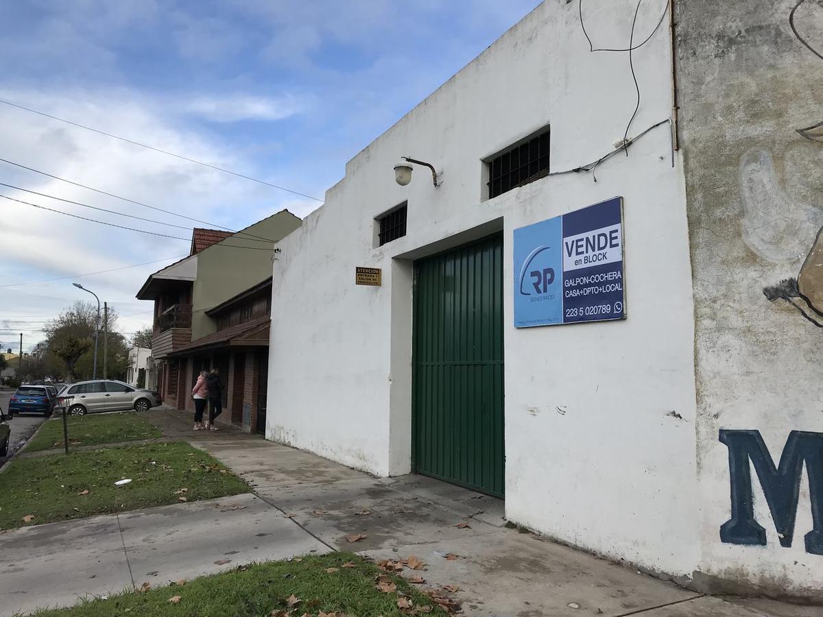 Foto Galpón en Venta en  Bernardino Rivadavia,  Mar Del Plata  SAAVEDRA al 5200