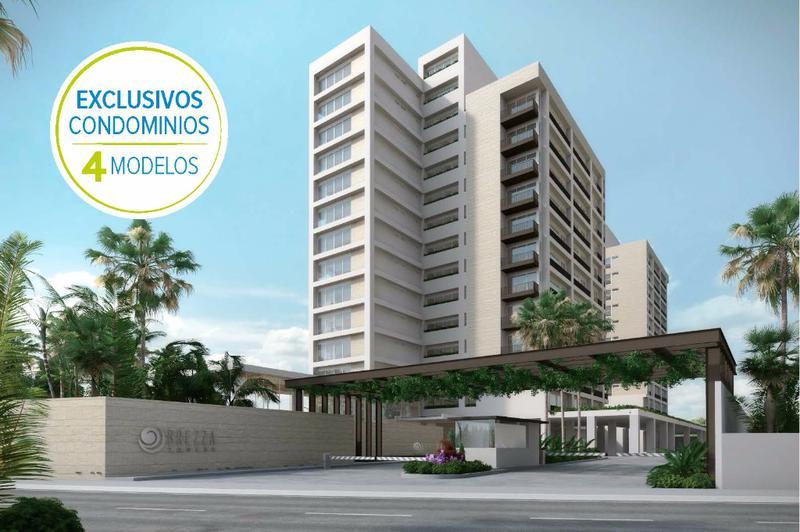 Foto Departamento en Venta en  El Table,  Cancún  Desarrollo Brezza Towers. Deptos. de Lujo. Tipo Loft de 1 Rec. 73 m2. El Table. Cancún