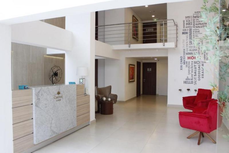 Foto Departamento en Alquiler temporario en  La Recoleta ,  Asunción      Departamento 2D, Chateau Tower, Asunción
