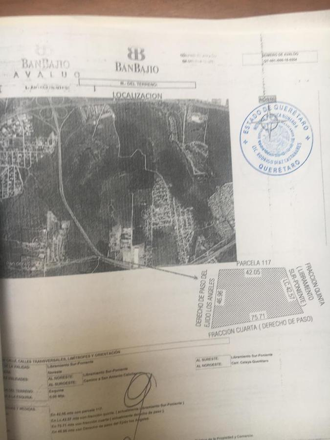 Foto Terreno en Venta en  Corregidora ,  Querétaro  TERRENO COMERCIAL EN VENTA LIBRAMIENTO SUR PONIENTE QRO. MEX.