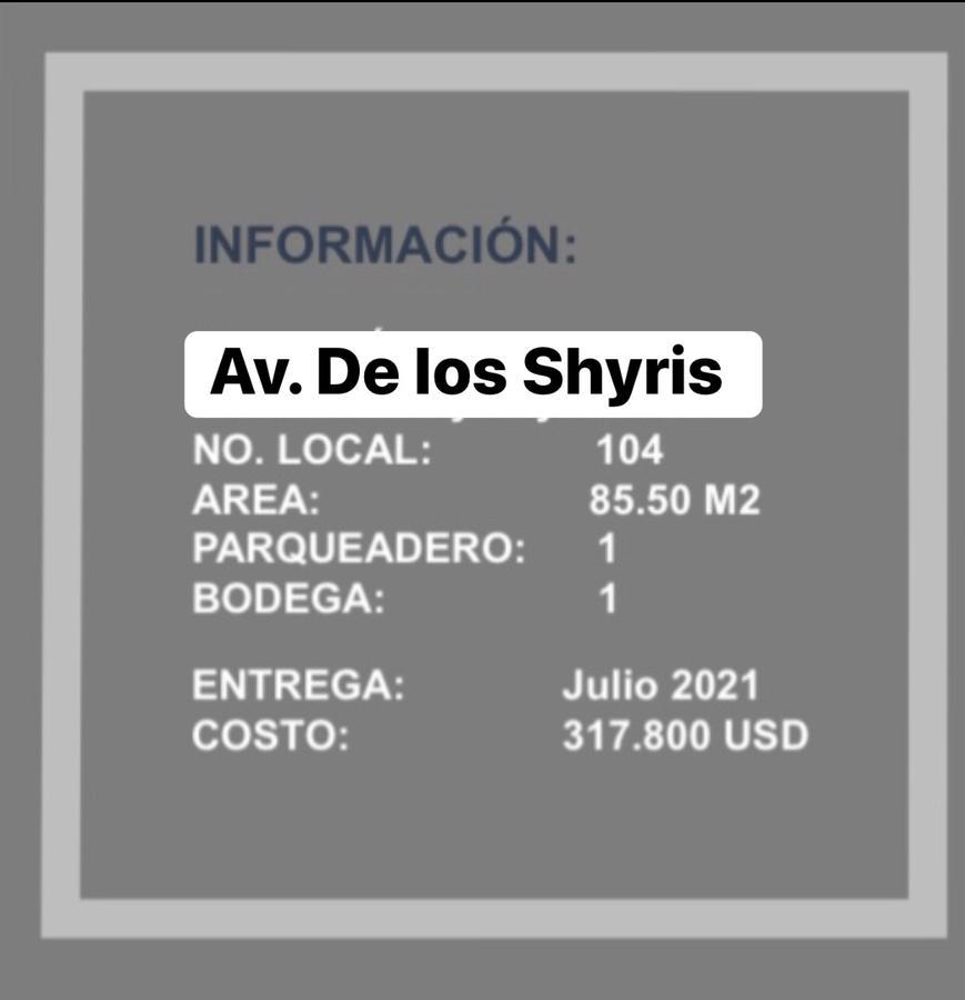 Foto Local en Venta en  La Carolina,  Quito  Av. Shyris y Suecia