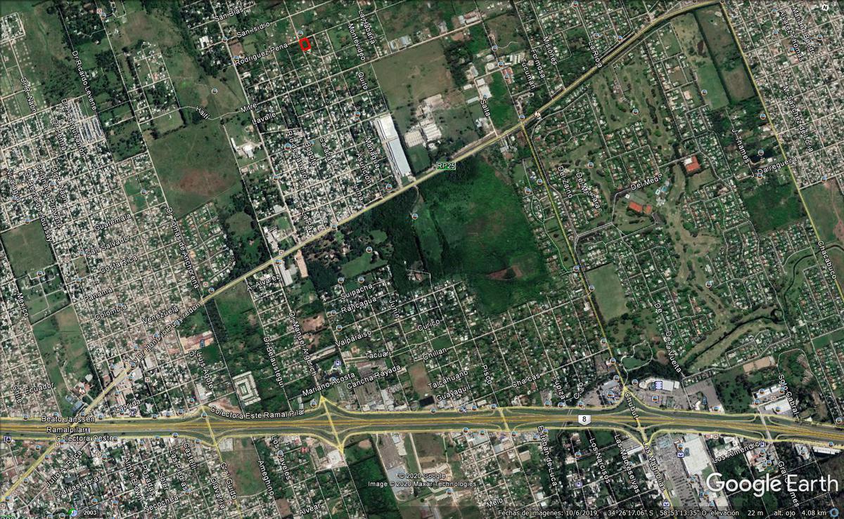 Foto Terreno en Venta en  Pilar ,  G.B.A. Zona Norte  San Ignacio y Lima