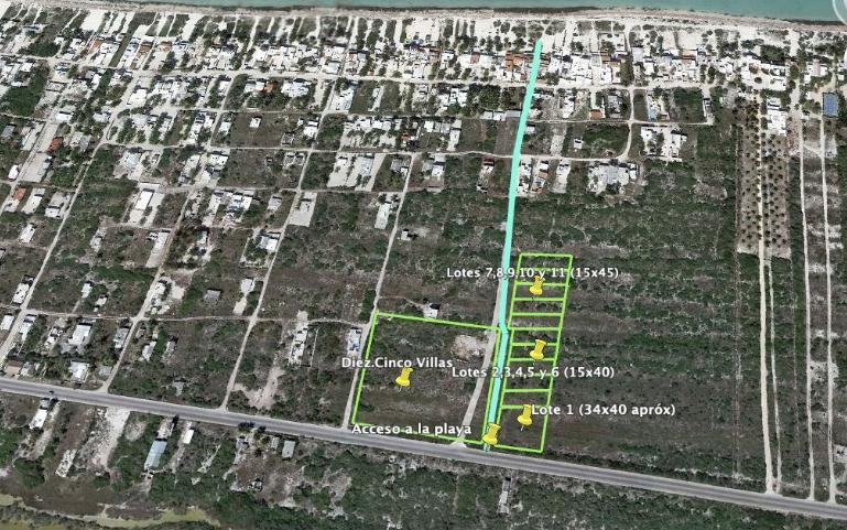 Foto Terreno en Venta en  Chicxulub Pueblo ,  Yucatán  Terrenos en venta JUMEIRA en el Km. 10.5 de Chicxulub Yucatan.