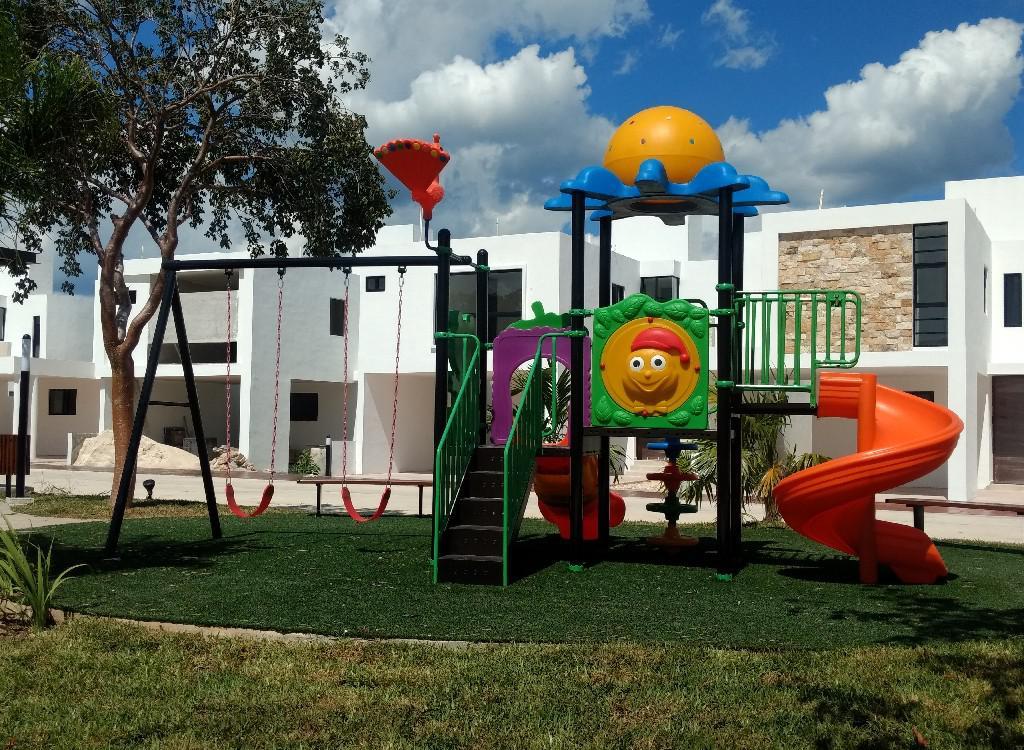Foto Casa en Venta en  Pueblo Conkal,  Conkal  Casa en Privada Botanico(mod 210)lote 131