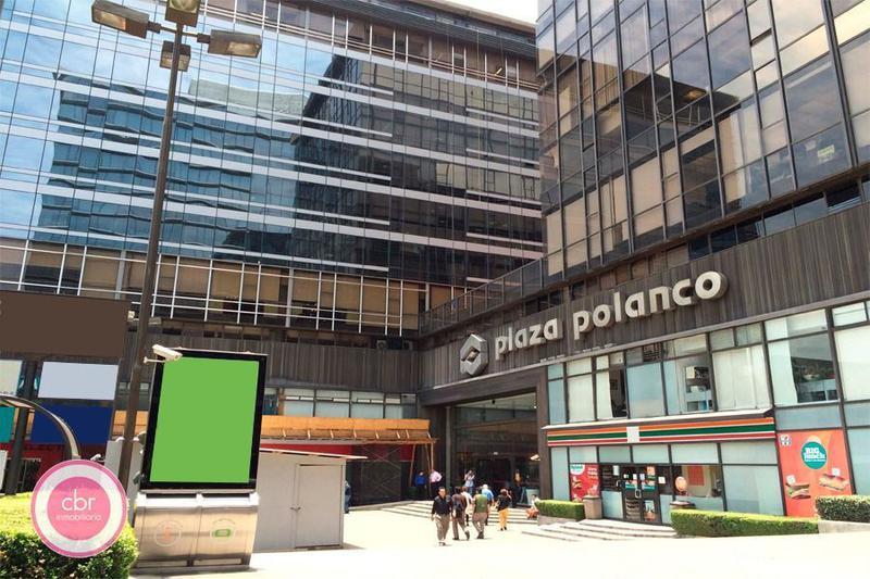 Alquiler de Apartamento estudio en Miguel Hidalgo Polanco III Sección