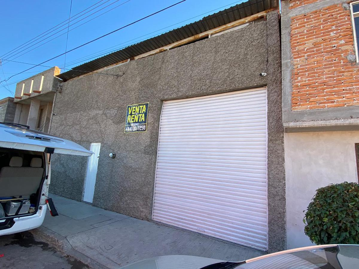 Foto Bodega en Venta   Renta en  San Luis Potosí ,  San luis Potosí  BODEGA EN VENTA Y RENTA EN COL. AZTECA, SAN LUIS POTOSI