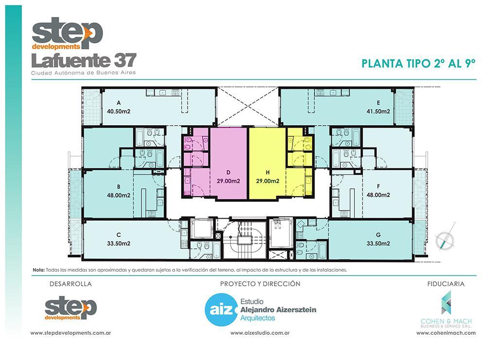 Foto Departamento en Venta en  Flores ,  Capital Federal  LAFUENTE 37  8 A