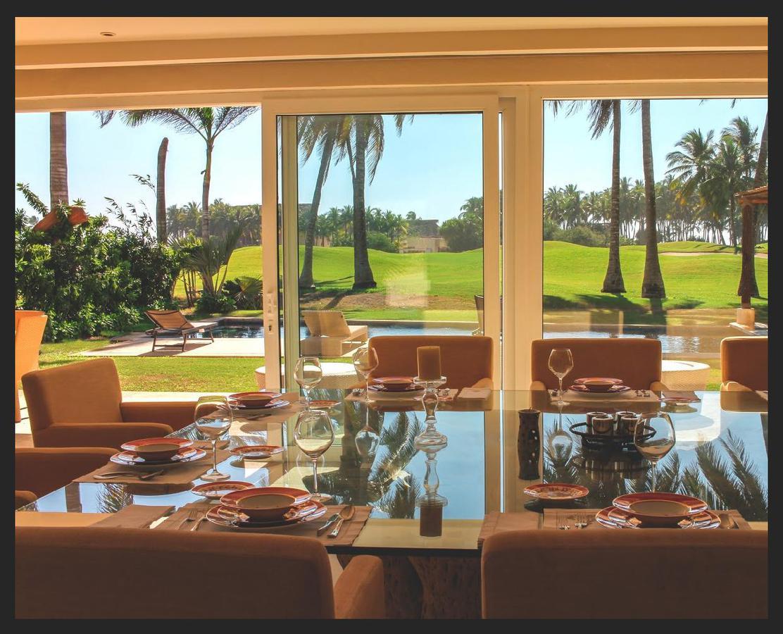 Foto Casa en Venta en  Club de golf 3 Vidas,  Acapulco de Juárez  Villa sobre campo de Golf Tres Vidas