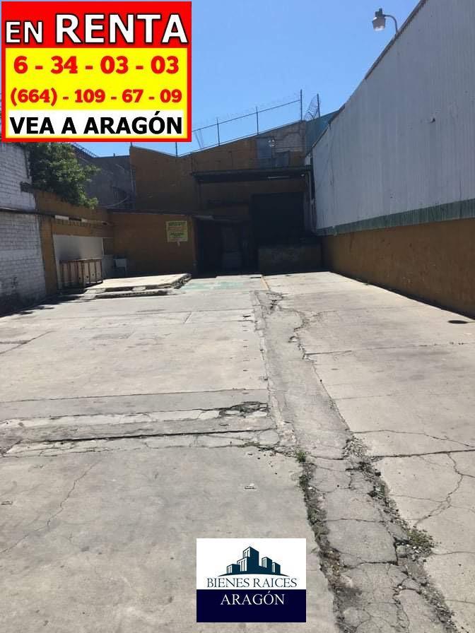 Foto Nave Industrial en Renta en  Tijuana,  Tijuana  RENTAMOS ESPLÉNDIDA BODEGA 1,100 M2 MÁS 450 M2 DE ESTACIONAMIENTO EN EL CENTRO