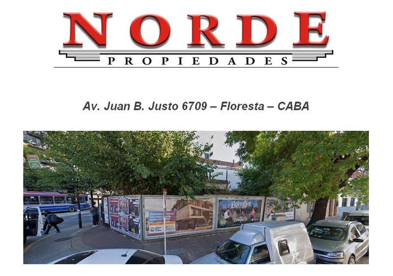 Foto Terreno en Venta en  Monte Castro ,  Capital Federal  Av. Juan B. Justo 6709