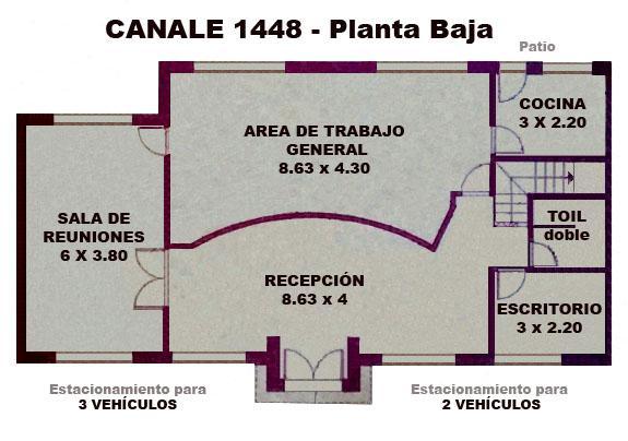 Foto Oficina en Venta en  Adrogue,  Almirante Brown  Canale  al 1400
