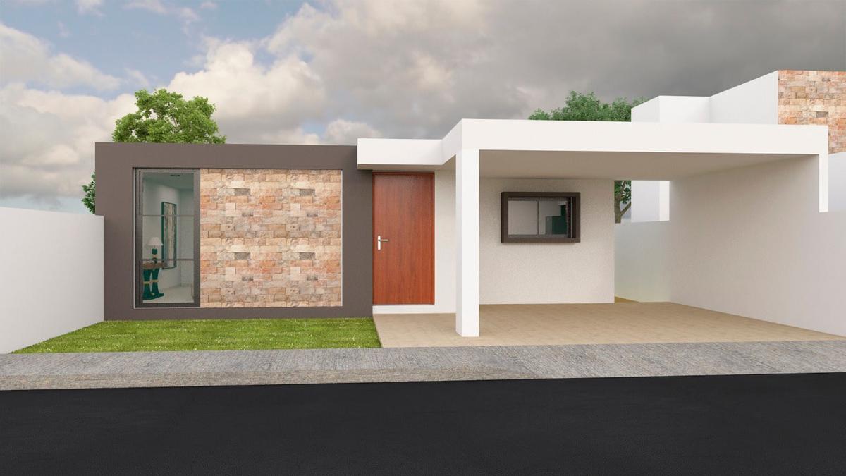 Foto Casa en Venta en  Pueblo Conkal,  Conkal  Casa de 1 Planta en Privada Canaria (Lote 25).