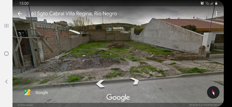 Foto Terreno en Venta en  Villa Regina,  General Roca  TERRENO PLENO CENTRO-V.REGINA