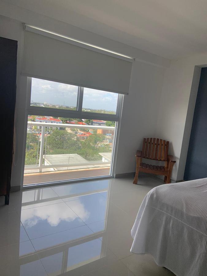 Foto Departamento en Renta en  Supermanzana 16,  Cancún  DEPARTAMENTO AMUEBLADO EN RENTA EN CANCUN EN RESIDENCIAL TZIARA SM 16