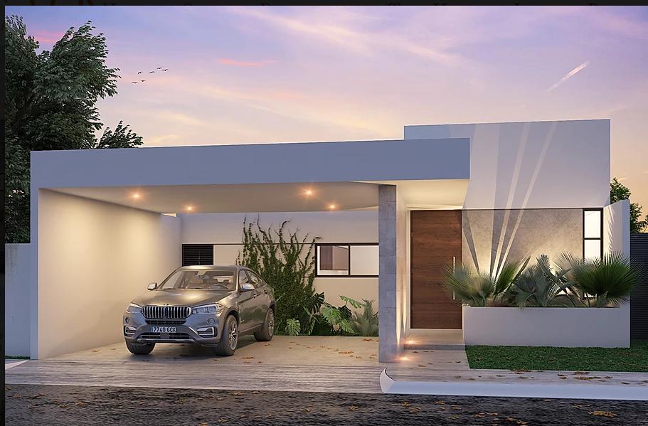 Foto Casa en Venta en  Conkal ,  Yucatán  Casa en venta en Merida, privada residencial es de un piso