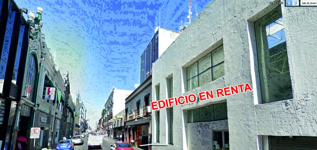 Foto Edificio Comercial en Renta en  Puebla de Zaragoza ,  Puebla  RENTA DE EDIFICIO COMERCIAL DENTRO DEL PRIMER CUADRO DEL CENTRO DE PUEBLA, ANTERIORMENTE ERA UNA SUCURSAL DE  BBVA