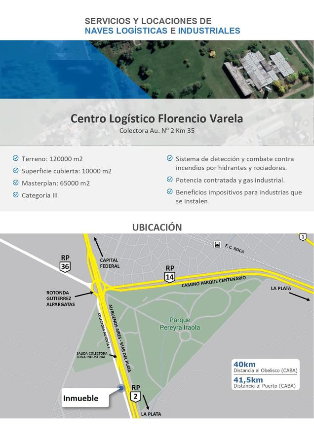 Nave Industrial - Florencio Varela-1