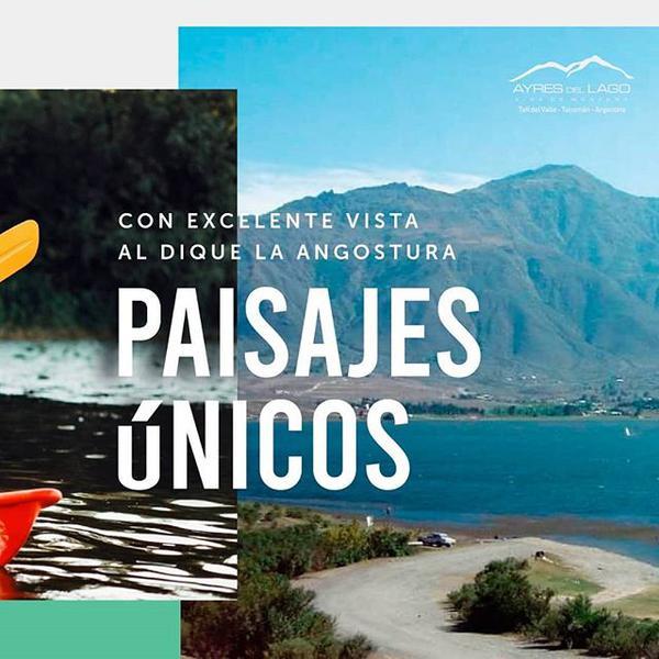 Foto Terreno en Venta en  Tafi Del Valle ,  Tucumán  AYRES DEL LAGO TAFI DEL VALLE LOTE 1100m2