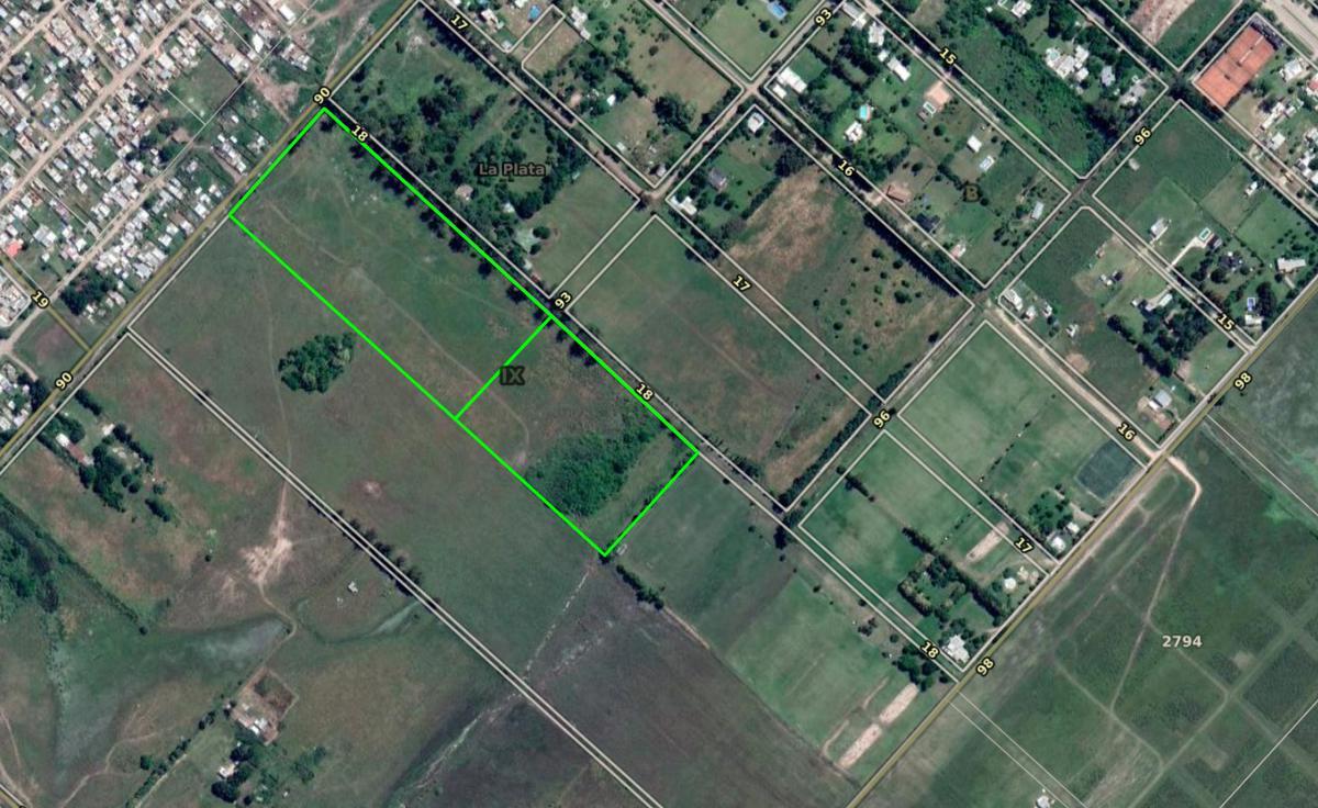 Foto Campo en Venta en  Villa Elvira,  La Plata  90 e/ 18 y 19