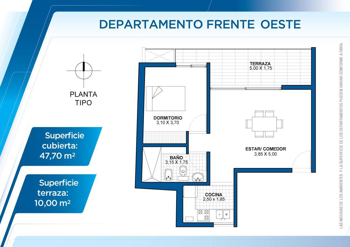 Foto Departamento en Alquiler en  Sur,  Santa Fe  5° piso Este Frente - 3 de febrero 3123