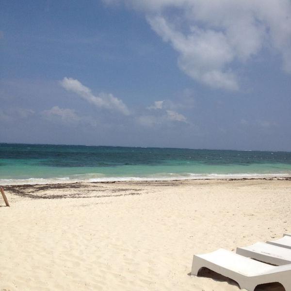 Foto Terreno en Venta en  Puerto Morelos,  Puerto Morelos  Paradisíaco terreno en la playa Puerto Morelos