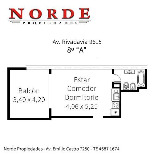 Foto Departamento en Venta en  Villa Luro ,  Capital Federal  Av. Rivadavia 9615 8º A