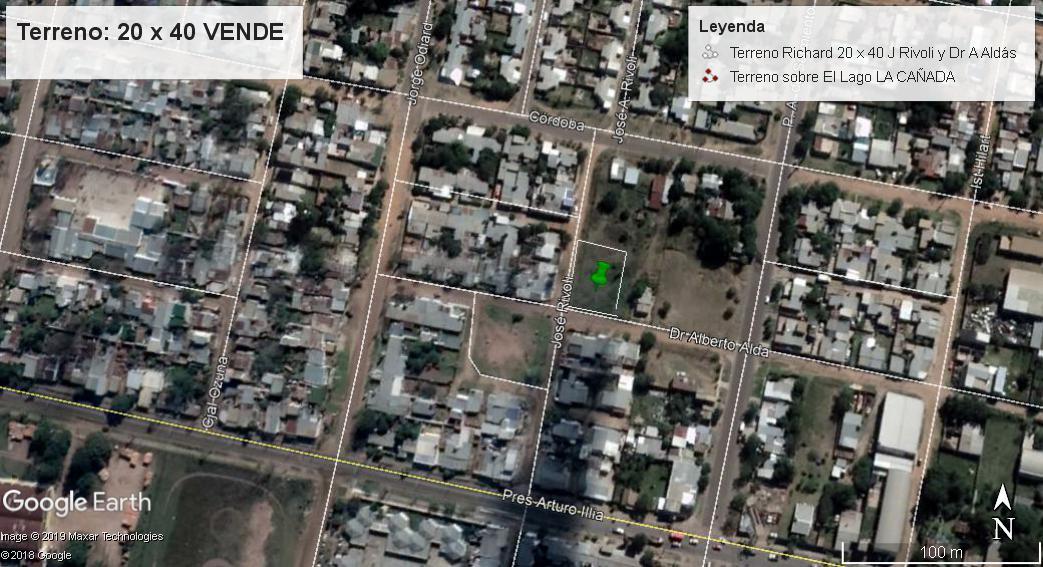 Foto Terreno en Venta en  Concordia,  Concordia  J. Ríboli y Dr. Aldá (esquina)